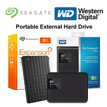 Seagate Backup Plus / Expansion 1 2 3 4 5 TB Portable External Hard Drive / WD My Passport Ultra