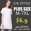 【30th Apr Update】2016 New Summer Plus Size Collection /Dress /Blouse/ Skirt/Midi Skirts /T-Shirts