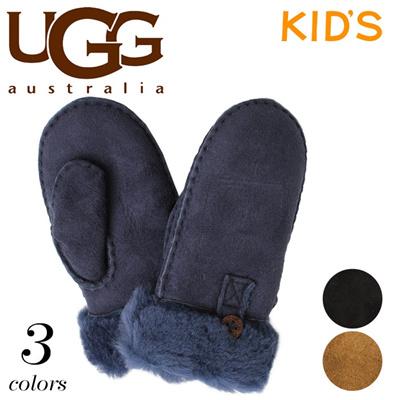 アグ オーストラリア ベイリー ミトン シープスキン UGG U1818 グローブ 手袋 キッズの画像