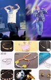 大人気!韓流グッズbigbangコンサート週辺 GD同スタイル (ネックレス 指輪  ブレスレット ピアス)演奏会、お呼ばれ 、ウエディング、二次会、、お買い得でウェディングはもちろん日常生活でも輝いてくれるアイテム プレゼント/D-LITE /G-Dragon/SOL