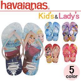 havaianas ハワイアナス プリンセス ビーチサンダル 4123328 レディース キッズ