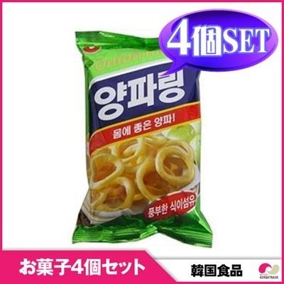 【韓国お菓子4個セット】【農心】ヤンパリン 4個セット / snack 【YDKG-s】の画像