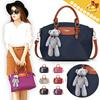 ◆Stylish fashion Nylon Bags◆Europe St. Stylish Desgn/ Tote bag^Shoulder bag/ Daily bag/ Shopping Bag/ Sling Bag/ 6 colors-741 Model