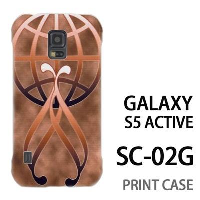 GALAXY S5 Active SC-02G 用『No3 金のエンブレムロゴ』特殊印刷ケース【 galaxy s5 active SC-02G sc02g SC02G galaxys5 ギャラクシー ギャラクシーs5 アクティブ docomo ケース プリント カバー スマホケース スマホカバー】の画像