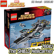 [Toys Christmas Sale] LEGO Marvel Super Heroes 76042 The SHIELD Helicarrier / Christmas