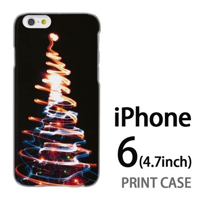 iPhone6 (4.7インチ) 用『1223 ネオンツリーライトアップ ゴールド』特殊印刷ケース【 iphone6 iphone アイフォン アイフォン6 au docomo softbank Apple ケース プリント カバー スマホケース スマホカバー 】の画像
