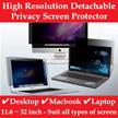 Privacy Screen Filter / Protector for Laptop / Notebook / Macbook / Desktop / Anti spy / Anti-Glare