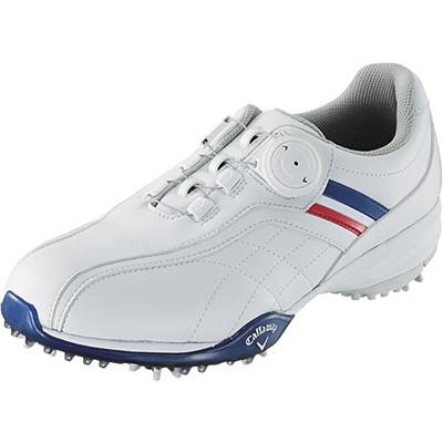 キャロウェイ(Callaway) ウィメンズ アーバンスタイル LS 15 JM ゴルフ スパイク WHT/NVY/RED 【レディース 靴 シューズ】の画像