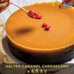 Salted Caramel Cheesecake (From Cat and the Fiddle) by Celebrity Chef Daniel Tay!