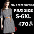 2015 S-6XL NEW PLUS SIZE FASHION LADY DRESS OL work dress SLIM DRESS LONG SLEEVE TOP