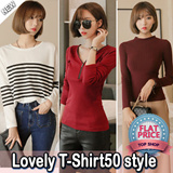 ★FREE SHIPPING★All Flat Price[Lovelovin] 2015 New long sleeve Top 88% OFF - FAST SHIPPING★ Plus size Free~XL women fashion women clothing GREAT DEALS!