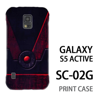 GALAXY S5 Active SC-02G 用『No3 鋼の扉ボタン』特殊印刷ケース【 galaxy s5 active SC-02G sc02g SC02G galaxys5 ギャラクシー ギャラクシーs5 アクティブ docomo ケース プリント カバー スマホケース スマホカバー】の画像