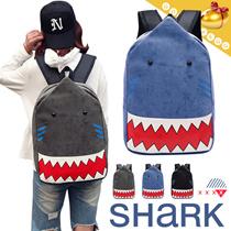 【予約】【送料無料】サメバッグ/リュックサック/スクールバッグ/大人気/かばん/旅行/収納袋/Travel bag-3 colors