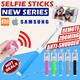 New Model Selfie Stick Mini MonoPod Shutter Wired No Bluetooth New Apps Shutter IPhone 5/5S/6/Plus Samsung Galaxy S3/S4/S5/Note3/Note4 Xiaomi Mi4i Redmi 1S/Note Sony Zenfone