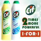 [Unilever] 【1 FOR 1 from $5.60 ONLY!】Cif Cream Cleaner and Spray- Keeps all surfaces sparkling! Available in Original Cream/Lemon Cream cleaner/ Kitchen and Bathroom Spray/Refill packs in 500ml!