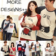 SPECIAL DEALS NEW PYJAMAS! Cheapest in TOWN! Couples long sleeves cotton pajamas cartoon suit suit