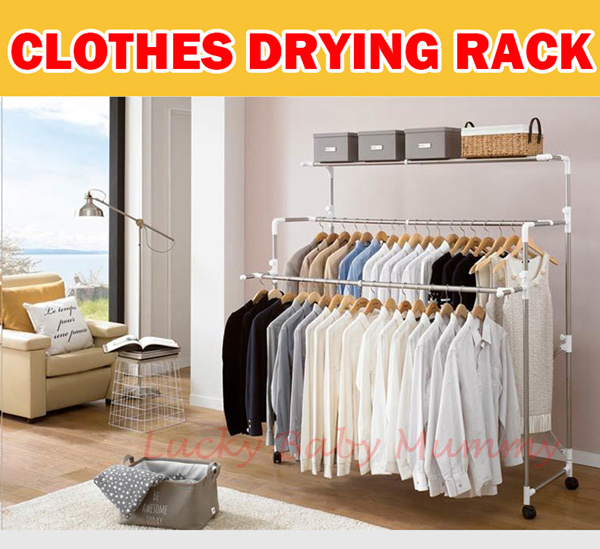 Korean Multi-functional Clothes Drying Rack /Stainless steel/Fast Dry/spa Deals for only S$199 instead of S$0