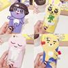Super cute Silicon Kakao Friends for  iphone6 ケースIphone6sケースIphone6  PlusケースIphone6s  Plusケースめちゃくちゃ可愛い韓国の人気漫画カカオフレンズ Ryan / Apeach / Muzi 三次元の柔らかいシリコーン携帯電話ケース