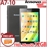 [Free Micro 32GB! SAMSUNG!!]LENOVO TAB2 A7-10 TABLET WITH GOOGLE PLAY/1.3GHz Quad-core 1GB RAM Android 4.4/Best price android tablet/New release on Jan 2015
