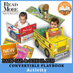 [Read More] ★NEW STOCK★ Convertible Books /Story Book / Large Play Mat /Toy for 3-6 years old / Kids