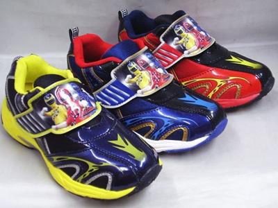 (B倉庫)烈車戦隊 トッキュウジャー 974 子供靴 スニーカー 男の子 キッズ シューズの画像