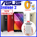 [READY STOCK] ASUS ZENFONE 2 LTE Dual Sim FREE Powerbank Xiaomi 10400mAh Android 5.0 (Lollipop) Type ZE500CL 2GB/16GB|ZE550ML 2GB/16GB|ZE551ML 2GB/32GB