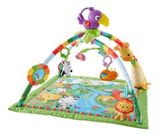 [FISHER-PRICE] DFP08 - Music and Lights Deluxe Gym, Rainforest