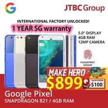 [Google] Pixel/Pixel XL Phone 4G | 12 MegaPixel |4GB Ram | 1 YEAR LOCAL WARRANTY INCLUDED FOC