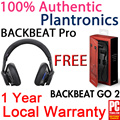[Local]100% Authentic Plantronics Backbeat Pro☆ Local Set☆ 1 Year Local Warranty ☆Bluetooth Wireless Stereo Headset Earpiece ☆ Wireless Active Noise Canceling Headphones + Mic New Earphones