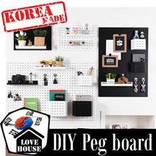 ★Pegboard★ Korean home decoration Wallpaper wall decoration sofa bed curtain kitchenware diy