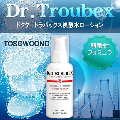 [TOSOWOONG]ドクタートラバックス炭酸水ローション/肌のことでお悩みなら、注目!/弱酸性/特許成分/肌悩み解決ニキビ肌/毛穴/ 弾力/皮脂/ニキビ跡1位/ニキビの鎮静韓国コスメの画像