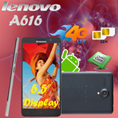 Lenovo A616 5.5Inch IPS 4G LTE Dual SIM / 1.3GHz Quad Core / Android 4.4 4GB | 5MP Camera With Playstore! Export Set with 6 months Warranty !