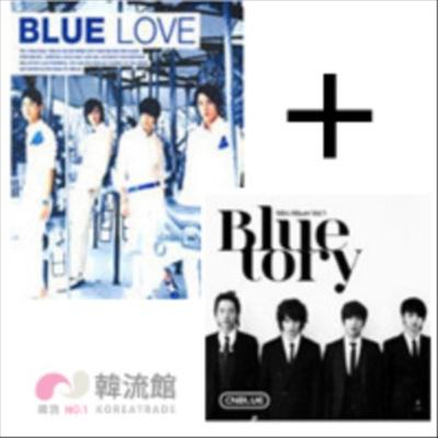 【送料無料】CNBLUE(C.N.ブルー)「Bluelove」CD +1st Mini Album/BluetoryCD【レビュー書いてプレゼント】 アルバム★CNBLUE(C.N.ブルー)「Blueの画像