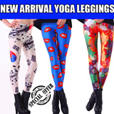 ◤COCO◥ NEW ARRIVAL LEGGINGS/ Sexy Yoga Pants/ GALAXY Printed Cool Leggings/ Designed Leggings/Women Stretch/Fashion Tights Leggings/ Comfy Yoga Tights/ Spandex Leggings/Leggings for women