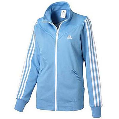 アディダス(adidas) W adidas24/7 ジャージ 3stジャケット(WOMEN'S) ADJ KBZ26 S92937 ラッキーブルー S15 【レディース ジャージ スポーツウェア ウィンドウェア ジャケット】の画像