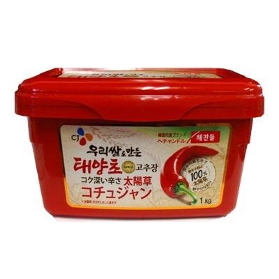 【韓国食品・韓国調味料】 ■ゴチュジャン1kg(辛みそ)ヘチャンドル■の画像