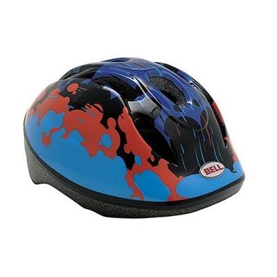 ベル(BELL) ZOOM/ズーム ヘルメット 自転車 サイクリング KIDS&YOUTH キッズ ブラック/シュガーストリーム XS/S 48-54 7048241 【子供 安全 スケート 女の子 男の子】の画像