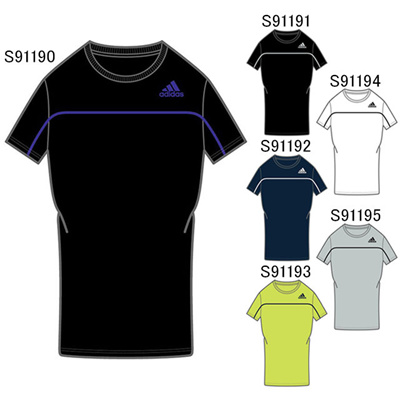 アディダス (adidas) M ESS BC ショートスリーブTシャツ KAZ10 [分類:Tシャツ (メンズ・ユニセックス)]の画像