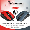 NEW Stealth SOUNDLESS Optical Mouse. Hi Defination n Up to 1200 CPI. World Most Durable Huano 5 Million Click Switches! Game Scroll Decoder Greater Stability/Accuracy! 2 Yrs Warranty! 3 days GroupBuy!