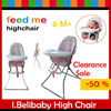 【-50% Off】I.Belibaby fold-able baby high chair for 6 months +