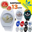 アディダス サンティアゴ ホワイト ブラック 人気 白 黒 timing adidas SANTIAGO クオーツ メンズ 腕時計 ADH6169 ADH6168 ADH6167 ADH6166 AD