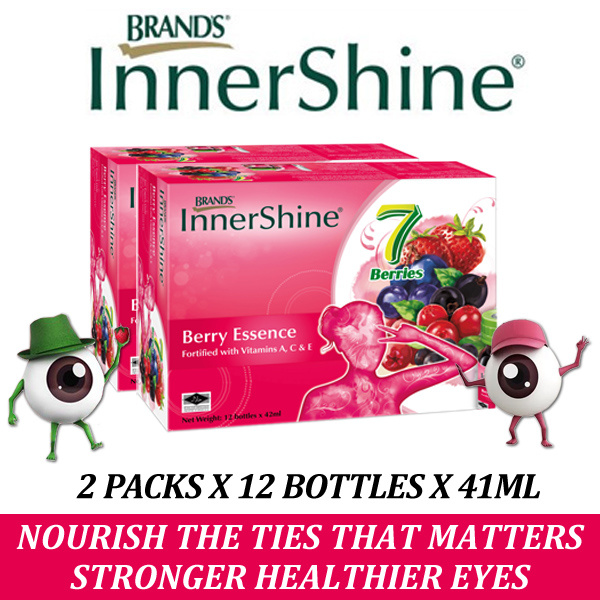 [TRY THIS PRODUCT] BRANDS Innershine Berry Essence Deals for only S$53.8 instead of S$0