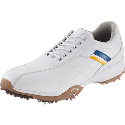 キャロウェイ(Callaway) アーバンスタイル 15 JM ゴルフ スパイク WHT/BLU/YLW 【メンズ 靴 シューズ】の画像