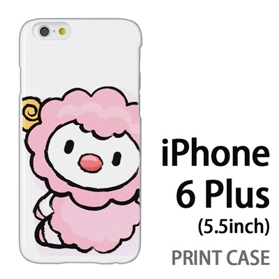 iPhone6 Plus (5.5インチ) 用『0723 干支 未』特殊印刷ケース【 iphone6 plus iphone アイフォン アイフォン6 プラス au docomo softbank Apple ケース プリント カバー スマホケース スマホカバー 】の画像