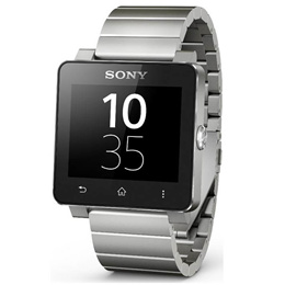 ◇ SONY ソニー スマートウォッチ2 シルバー Smart Watch 2 SW2 Silver メタルブレス付 海外リテール 1279-9869 ◆宅