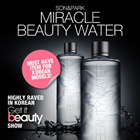 ★SAVE $13★BETTER AND CHEAPER THAN SK2★FAMOUS KOREAN CELEBRITY MAKE-UP ARTIST★BEAUTY WATER/FLAWLESS SKIN/EXFOLIATES/SOFT SKIN/MOISTURIZES/GET IT BEAUTY-SON and PARK★