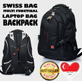 SWISS LAPTOP BACKPACK LADIES BAG NOTEBOOK BAG BACKPACK OFFICE BAG MENS BAG