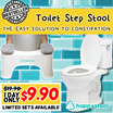 ◀ THE GOLDEN CONCEPTS ► HappyStool Toilet Step Stool ★ Easy Way To Relieve Constipation ★ Good for Everyday Use Too! ★ Fast Delivery ★ Local Seller! ★