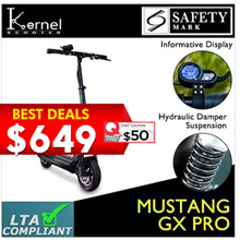 [⚡LOCAL SELLER⚡]🛴Free Shipping + Coupon Friendly 🛴 LTA APPROVED 💎 MUSTANG GX PRO 💎 SINGAPORE BRAND 💎 Limited Quantity ⚡