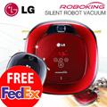 [2015 NEW ARRIVAL] LG ROBOKING Dual Eyes 2.0 48dB Silent Robot Vacuum Smart Cleaner  VR-6470LVM / VR-6471LVM